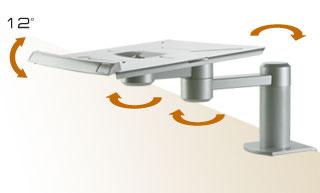 Кронштейн настольный для установки принтеров, мониторов, ноутбуков, СВЧ печей, телефонов и др